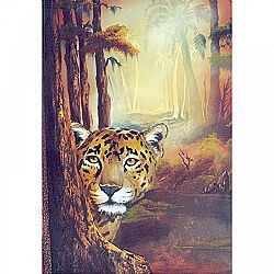 Bob Ross How-To Painting Packet Wildlife Tropical Jaguar