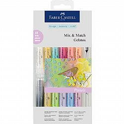 Faber Castell Mix & Match Gelatos σετ των 15 τμχ.