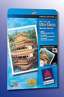 Avery Inkjet Ultra Glossy Photo Film 150gr
