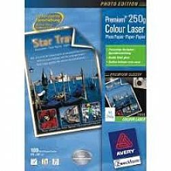 Avery Laser Premium Glossy Photo Paper 250gr.