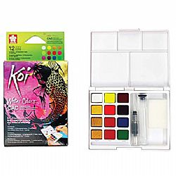 Koi Water Colors Σετ Pocket Field Sketch Box