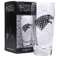 Glass Pilsner - Game of Thrones (King in the North) 500ml.