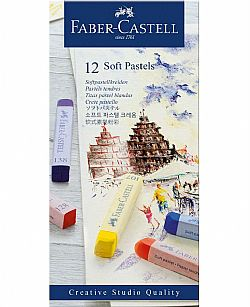 Faber Castell Soft Pastels Σετ 12