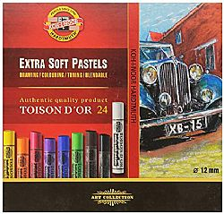 Koh-i-noor Σετ Extra Soft Pastels