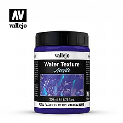 Vallejo Water Texture Acrylic Pacific Blue 200ml