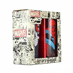Marvel Glasses (Set of 2) - Spiderman & Venom