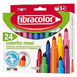 Fibracolor σετ μαρκαδόρων