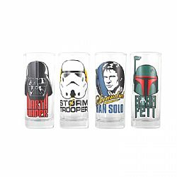Star Wars Glasses (Set of 4) - Characters