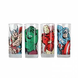 Marvel Glasses (Set of 4) - Characters