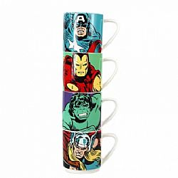 Marvel Stacking Mugs (Set of 4) - Marvel