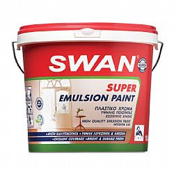 Swan Super Emulsion Paint Πλαστικό χρώμα 750ml