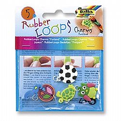 Folia Rubber Loops Charms Funland