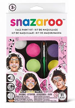 Face Paint Kit Snazaroo 8X2ML