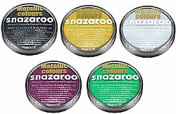 Metallic Colours Snazaroo 18ML