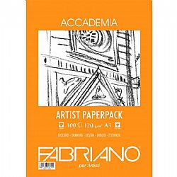 Fabriano Accademia Artist Paperpack A3 120gr.