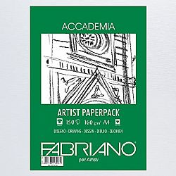 Fabriano Accademia Artist Paperpack A4 160gr.